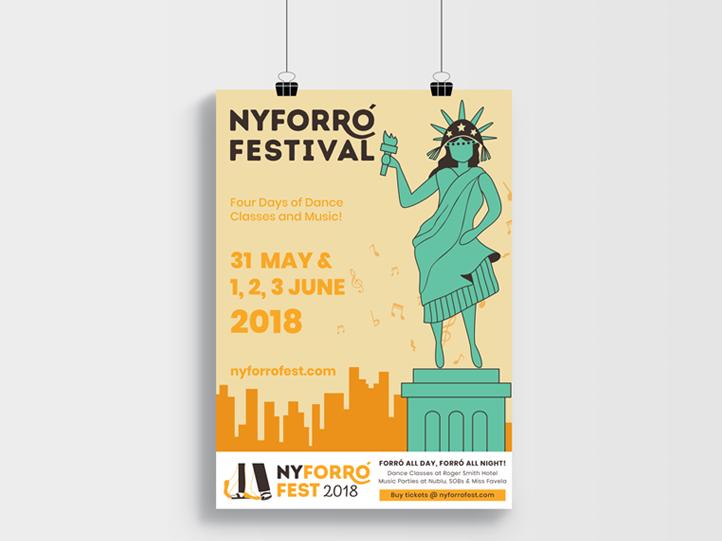 New York Forro Festival 2018 Poster
