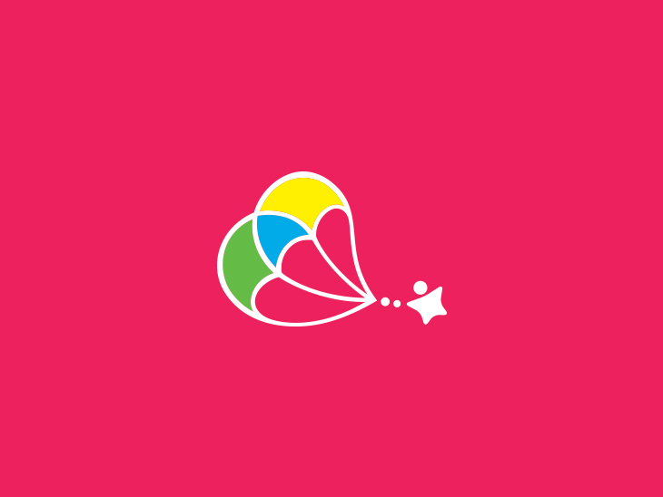 Luciana Diehl Design - Parachute Play and Learning - Logo Mark