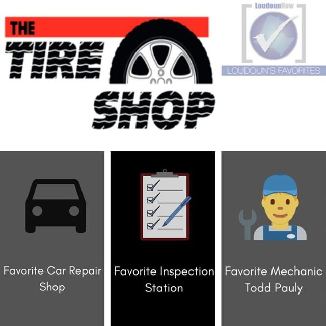 We would like to congratulate The Tire Shop for being voted in three categories in the Loudoun Now Favorites!! * * They are running some great promotions right now, head over to thetireshop.net to check them out!