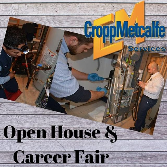 Looking to jumpstart your career or get into an in- demand industry?? CroppMetcalfe is holding an Academy Open House and Career Fair Saturday, August 10th.  For more information or to RSVP, visit: https://www.croppmetcalfe.com/careerfair/