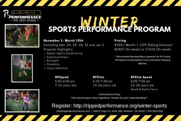 Be sure to check out the Winter Sports Performance Program through Ripped Performance!  https://rippedperformance.org/winter-sports