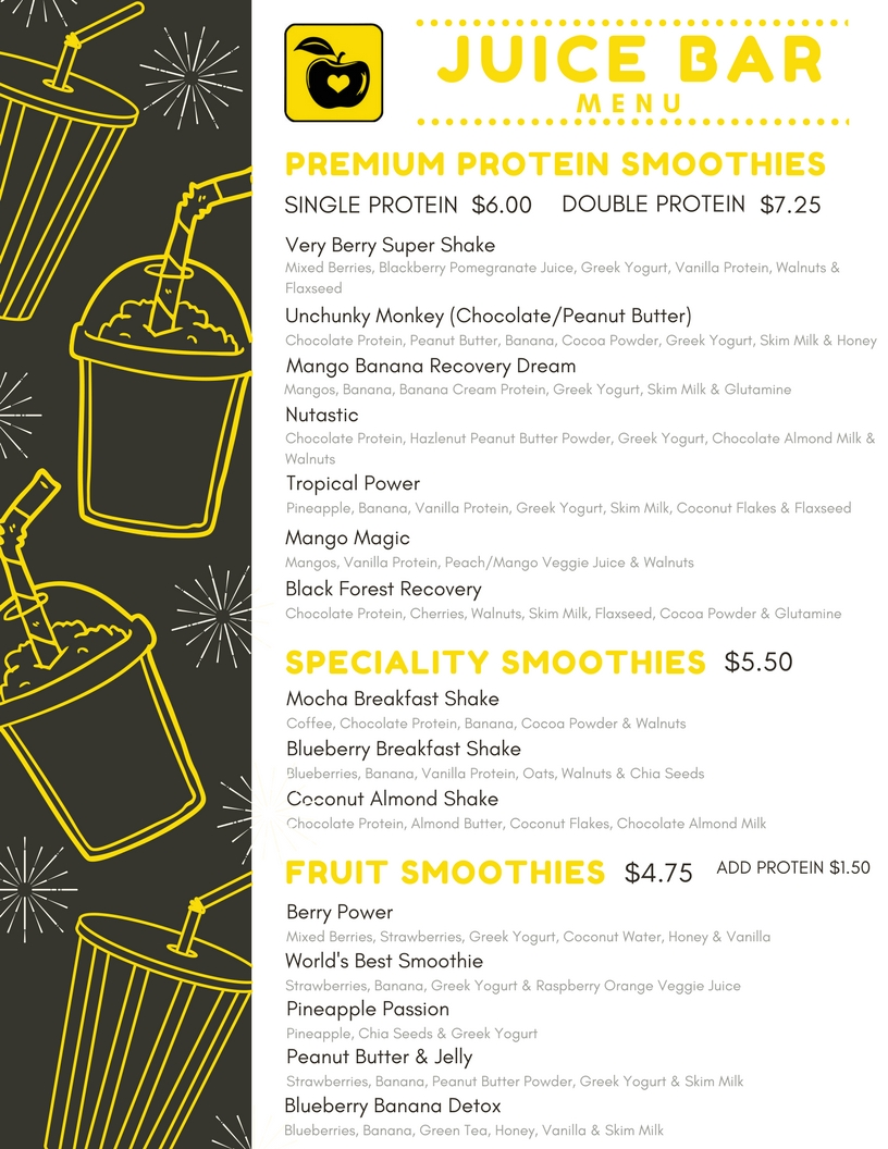 Page 1 - Smoothies