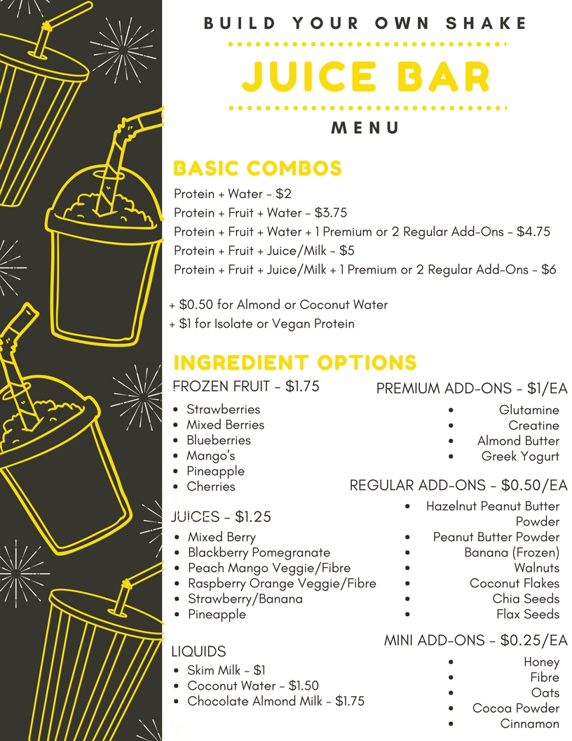 Pg 2 - Build Your Own Recipe