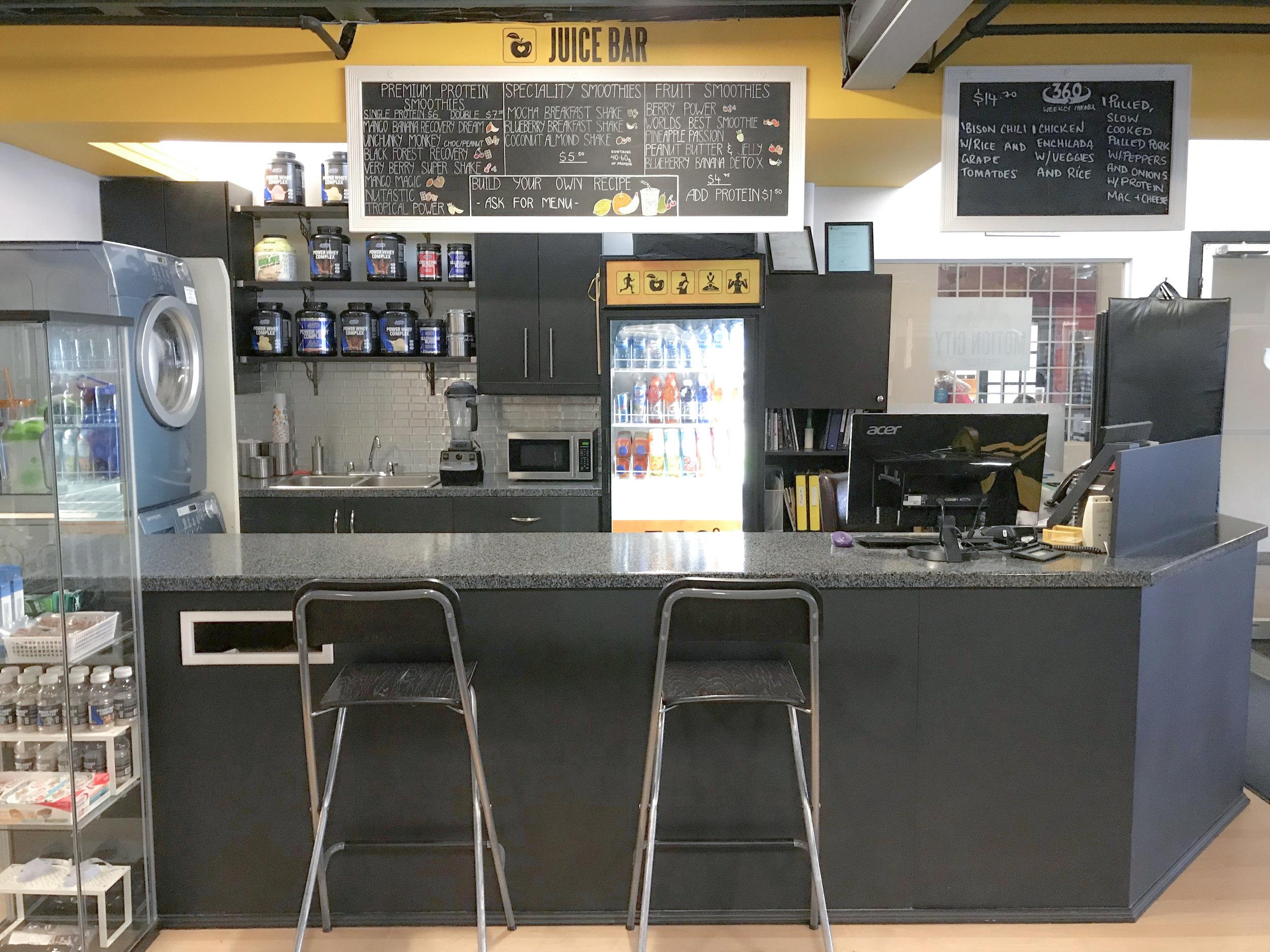 Kensington Fitness Juice Bar