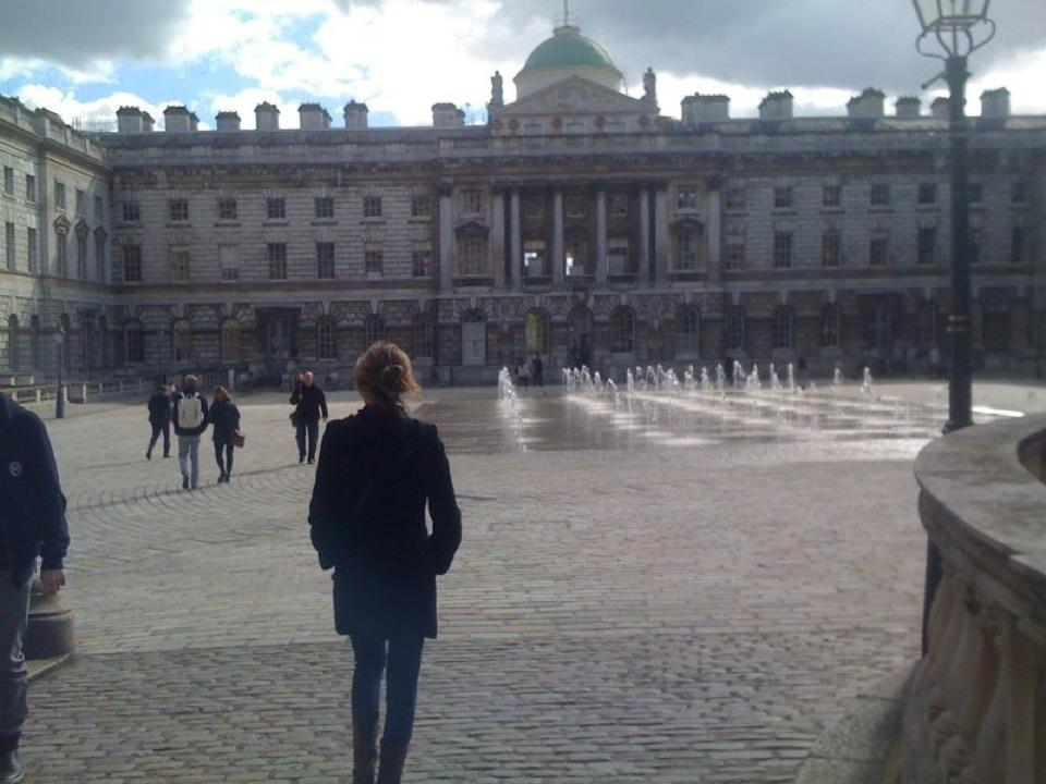 The SOMERSET HOUSE, LONDON