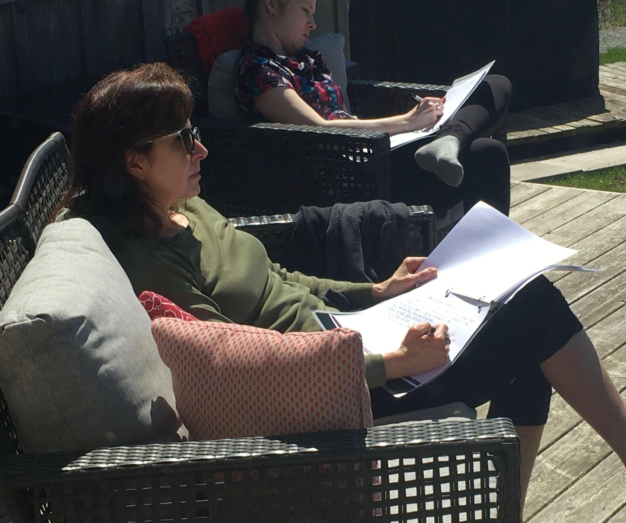 lisa and kristi at work.jpeg