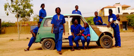 Ouaga Girls - A film by Theresa Traore Dahlberg