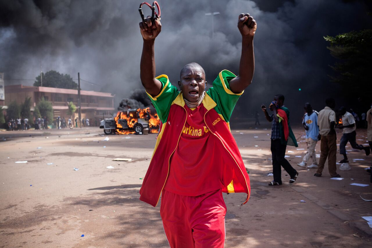 Burkinabe Rising: the art of resistance in Burkina Faso - A Film by Lara Lee