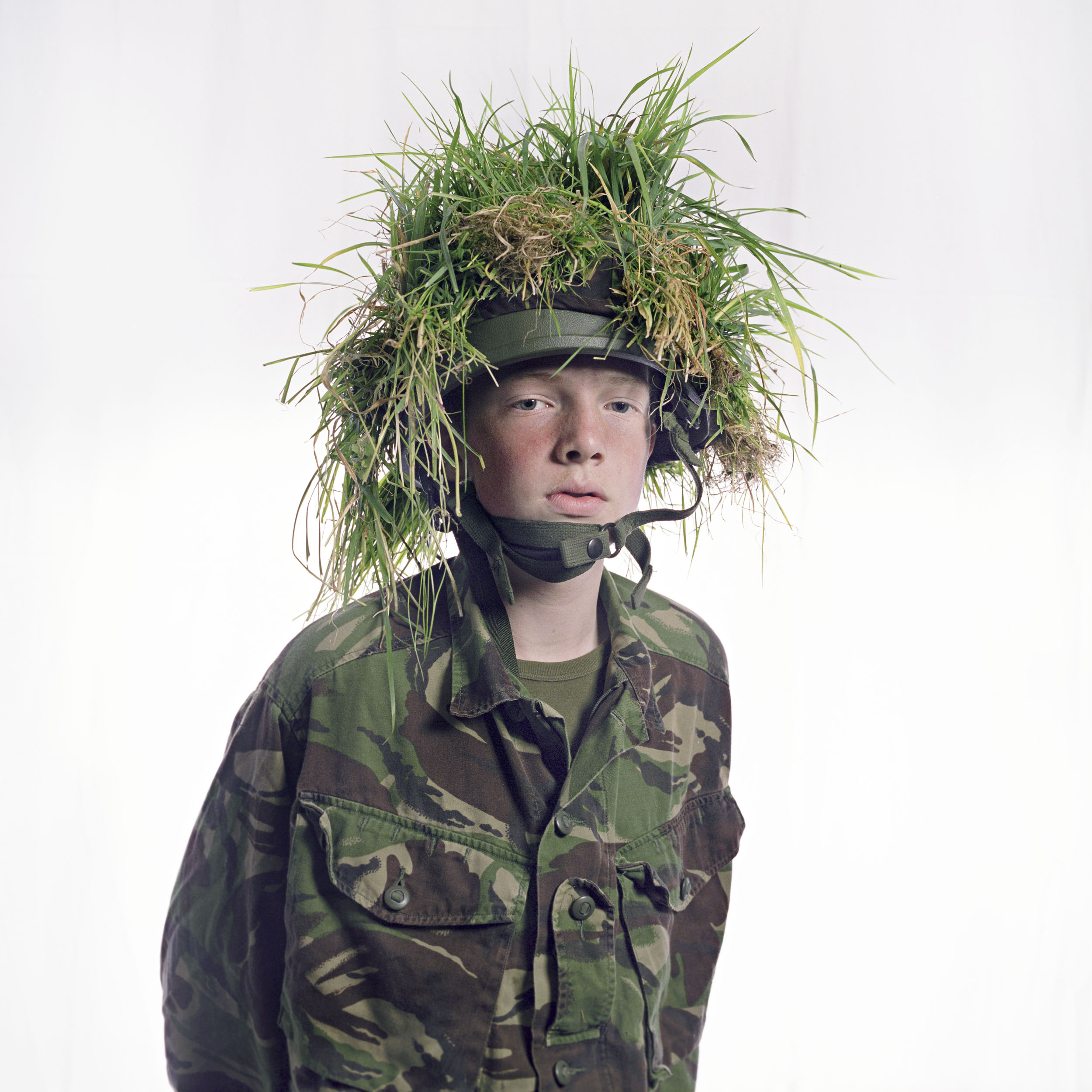 From my series, Venture, Adventure - a series of portraits of members of the Air Training Corps.