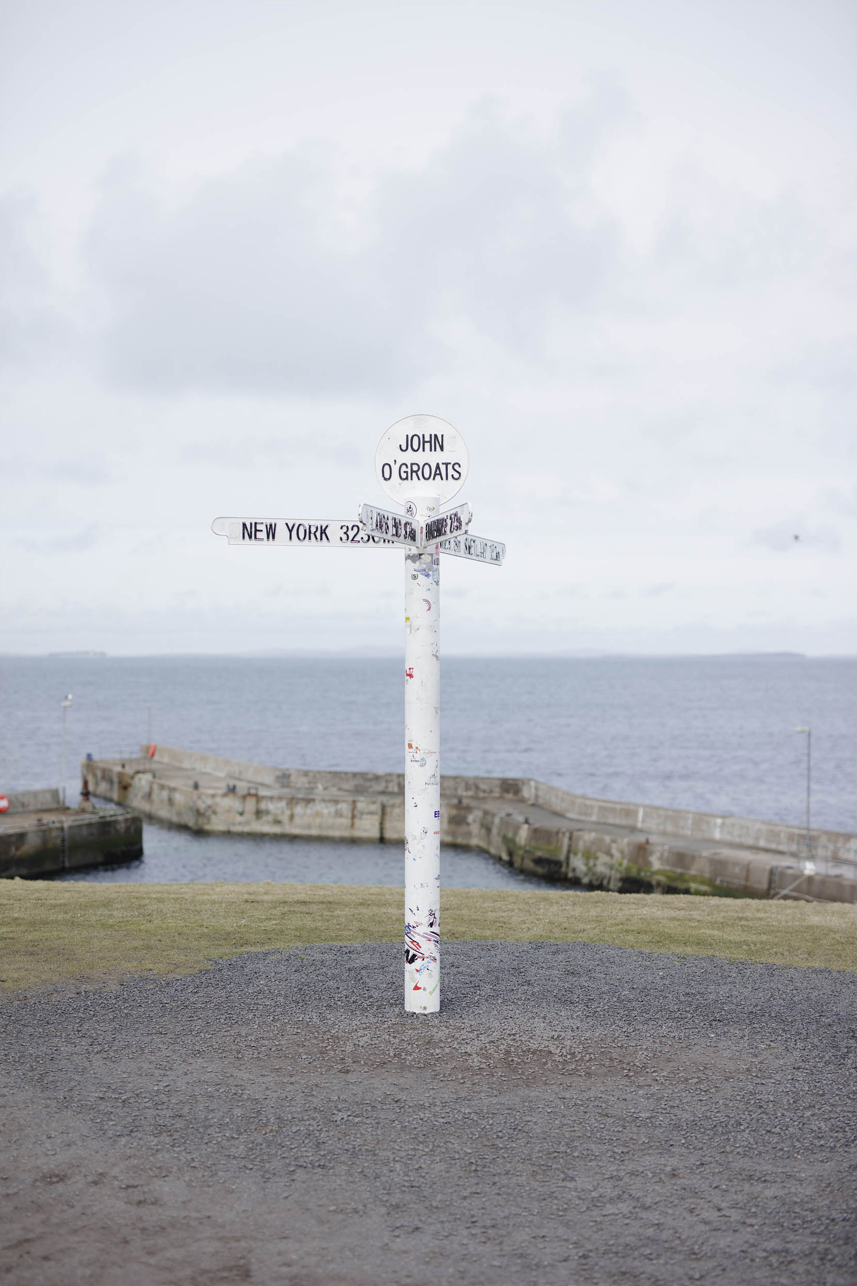 John O'Groats, Scotland, March 2019
