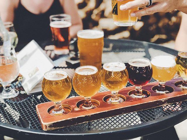 Beer flights because we're halfway to the weekend! 🍻