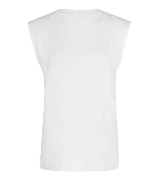 FRAME Le Mid Cotton-Jersey T-Shirt