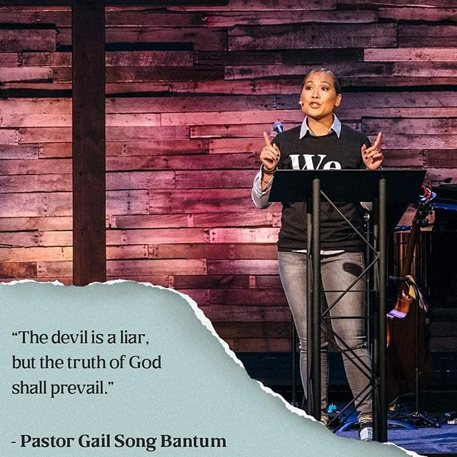 Rev. Gail Song Bantum at Quest Church Seattle WA . . . . #fourmore #fourmorewomeninthepulpit #covchurch #womenpreachers