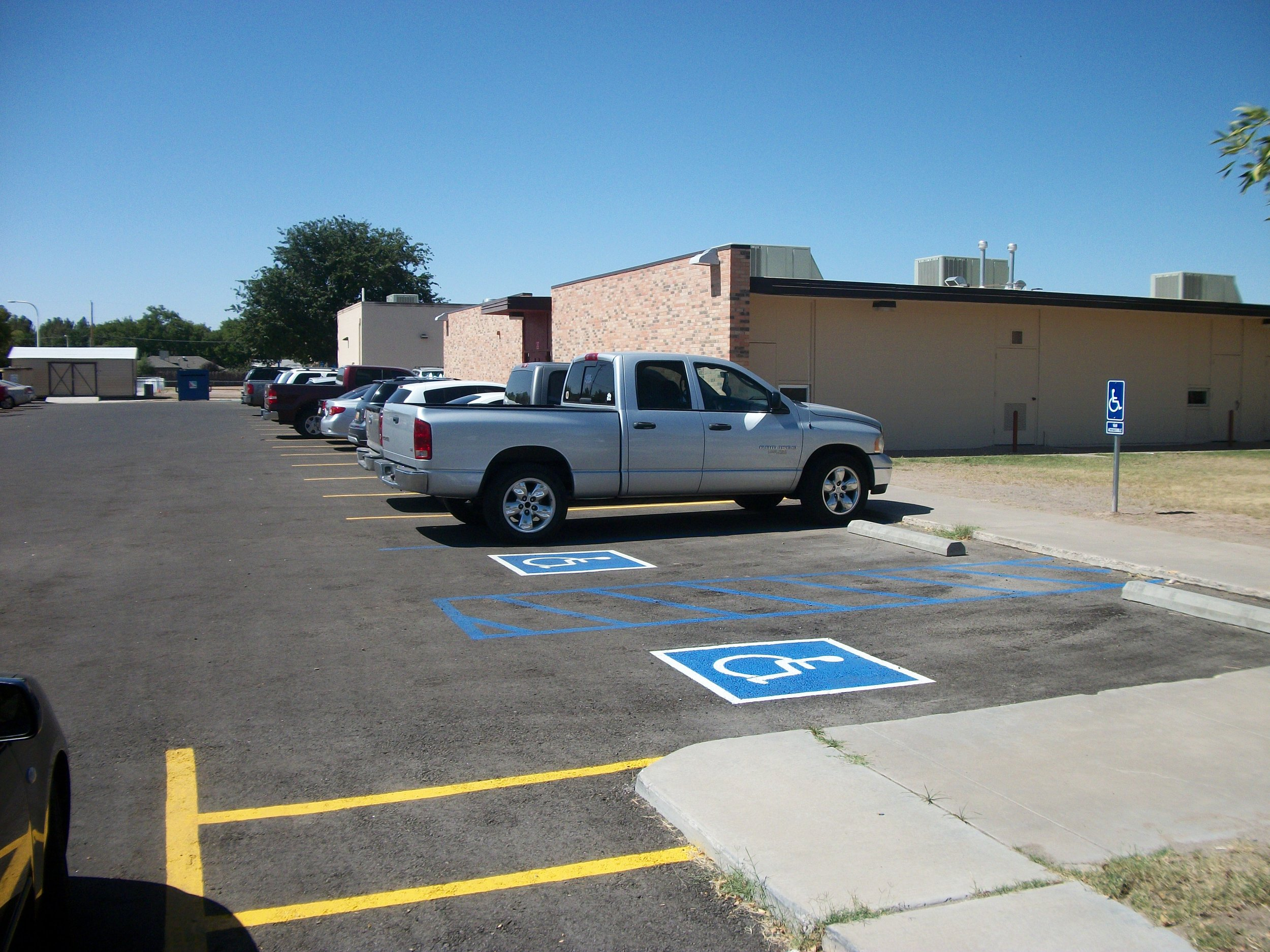 Parking lot Repair & Maintenance