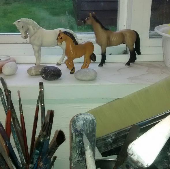 HorsesInStudio