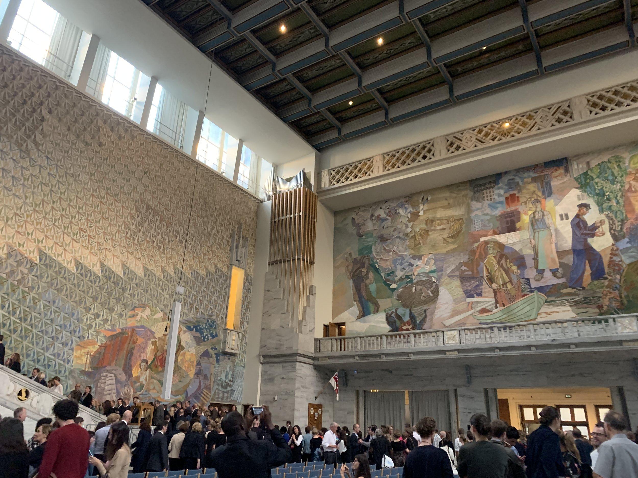 Pre–opening Rådhuset