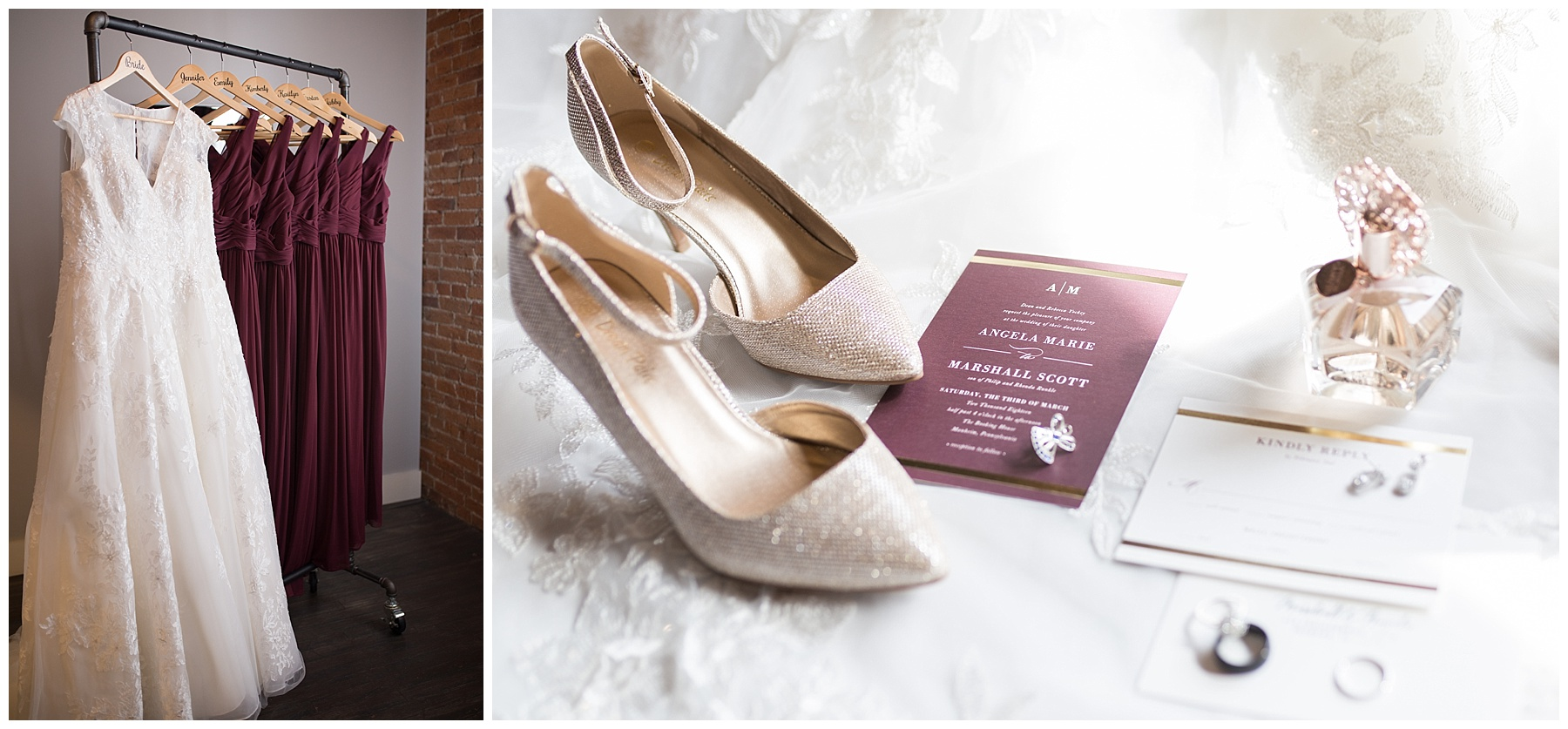 Check out Angela and Marshall's stunning Central PA wedding  here!
