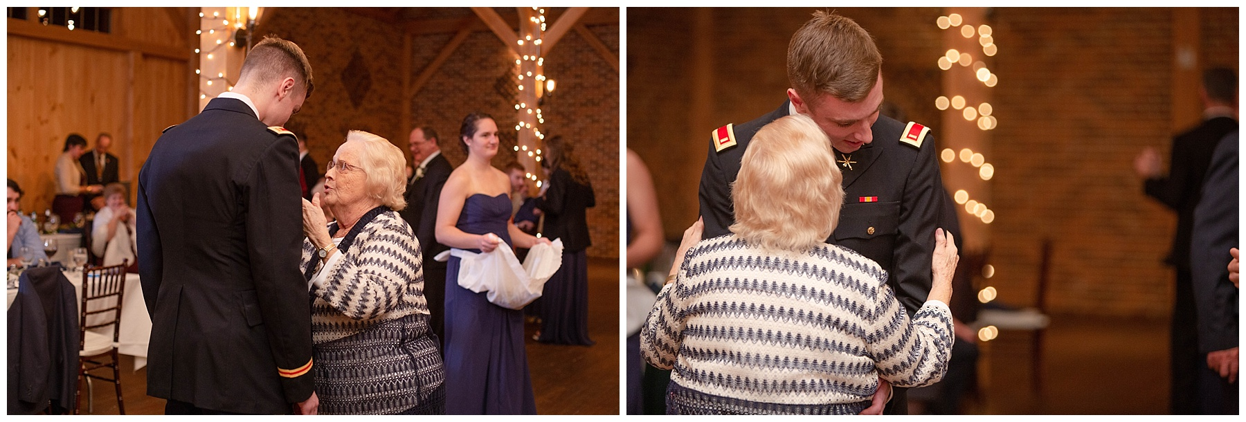 I REALLY want to know what advice Nicole's grandma is giving Johnny in these photos!