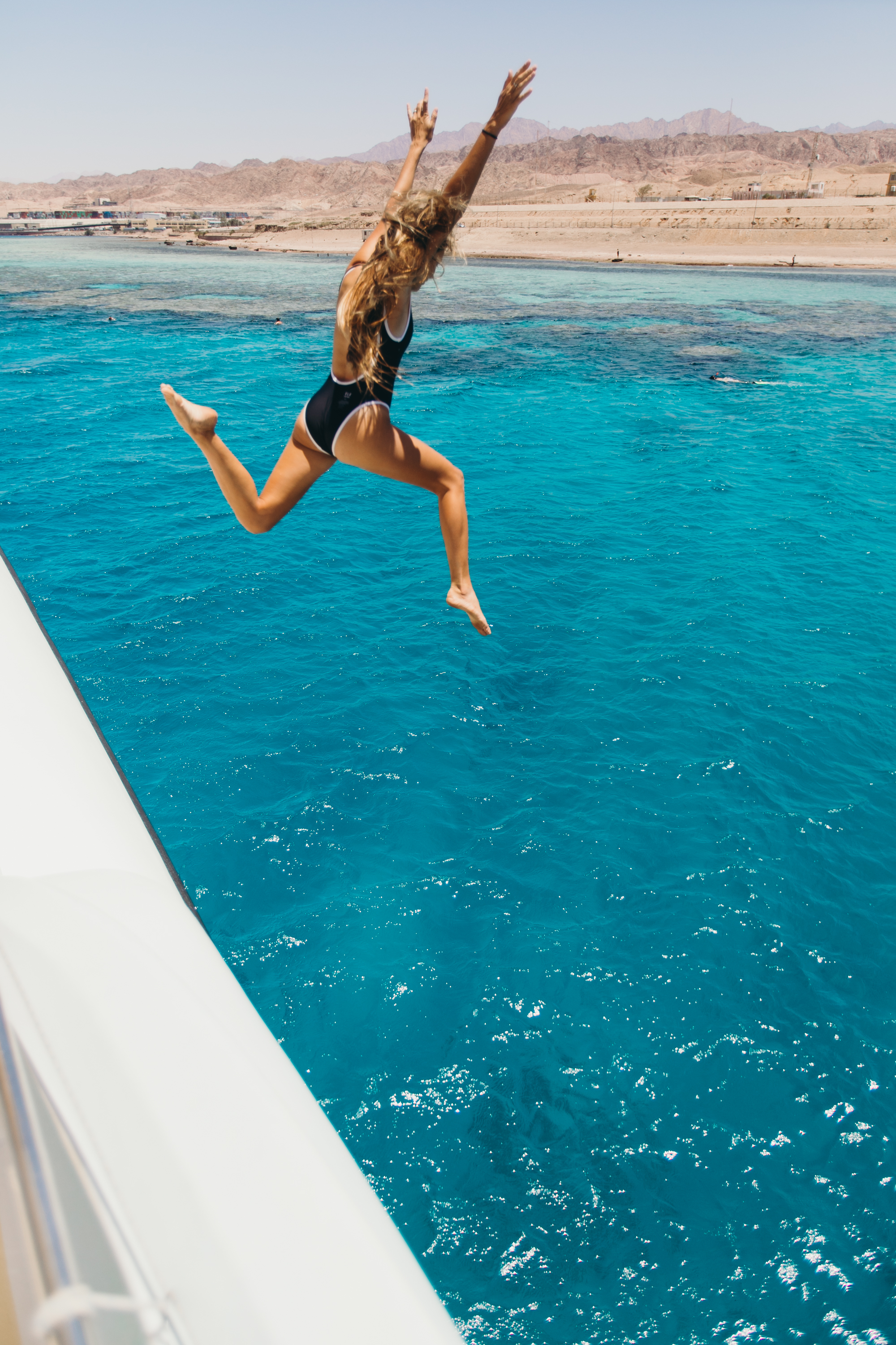 Jumping from the boat was the best! My heart felt so happy and free this day.