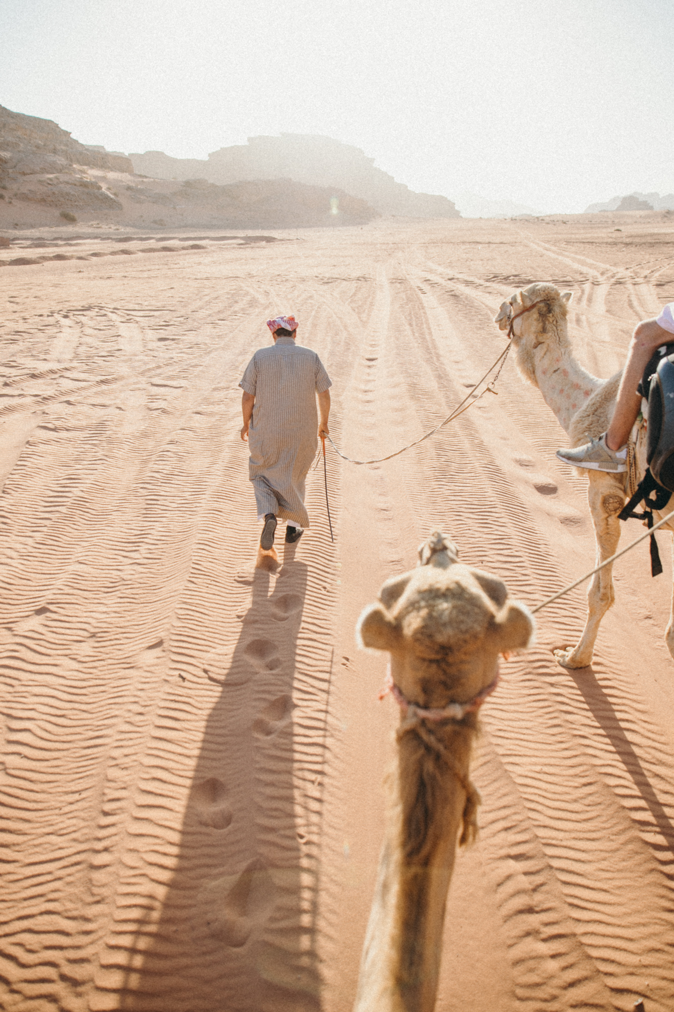 Later that evening we went on a camel ride!!