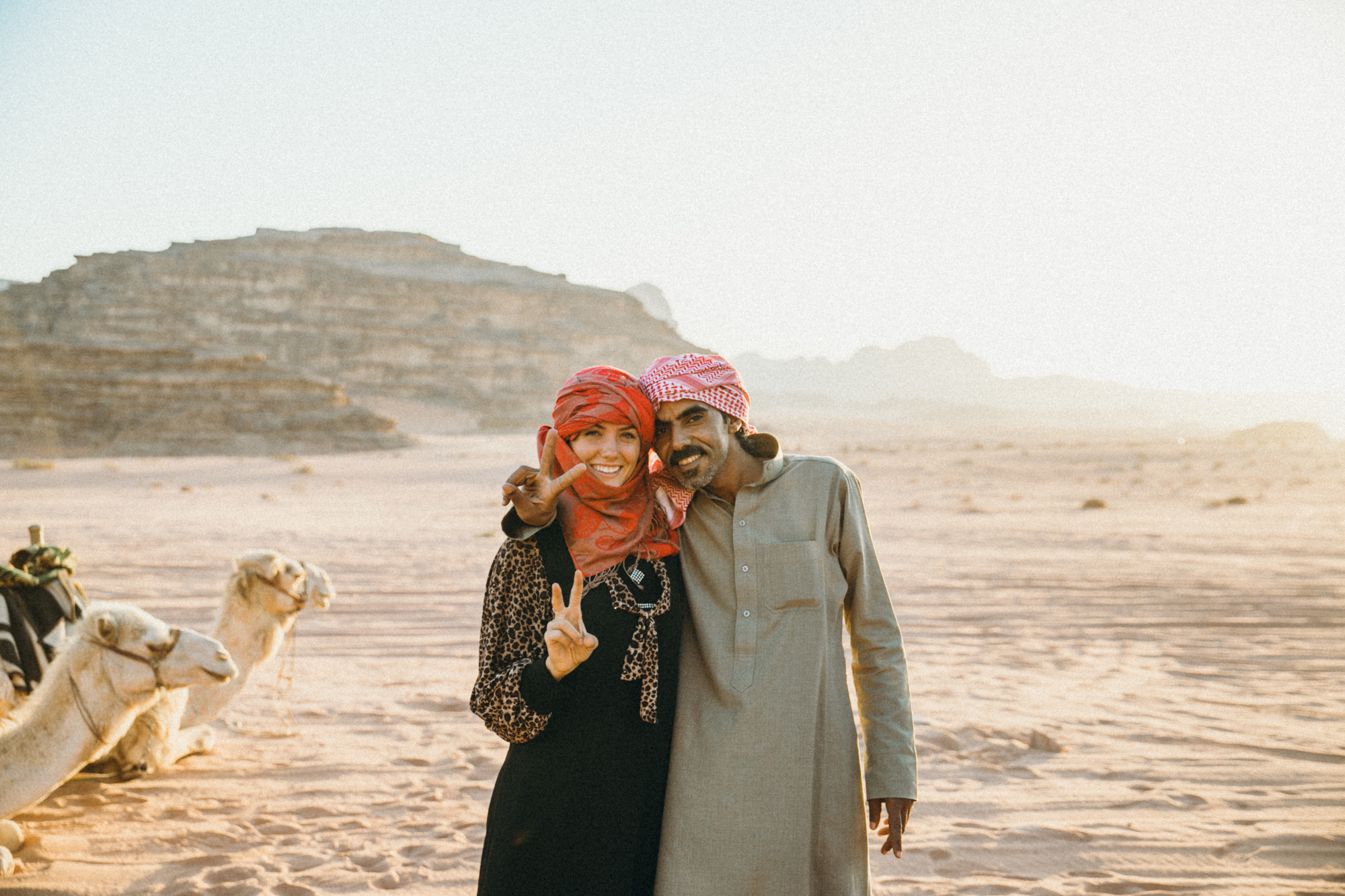 I love Jordanians because every time I wanted a photo of them they always wanted a photo of me too! It's only fair??