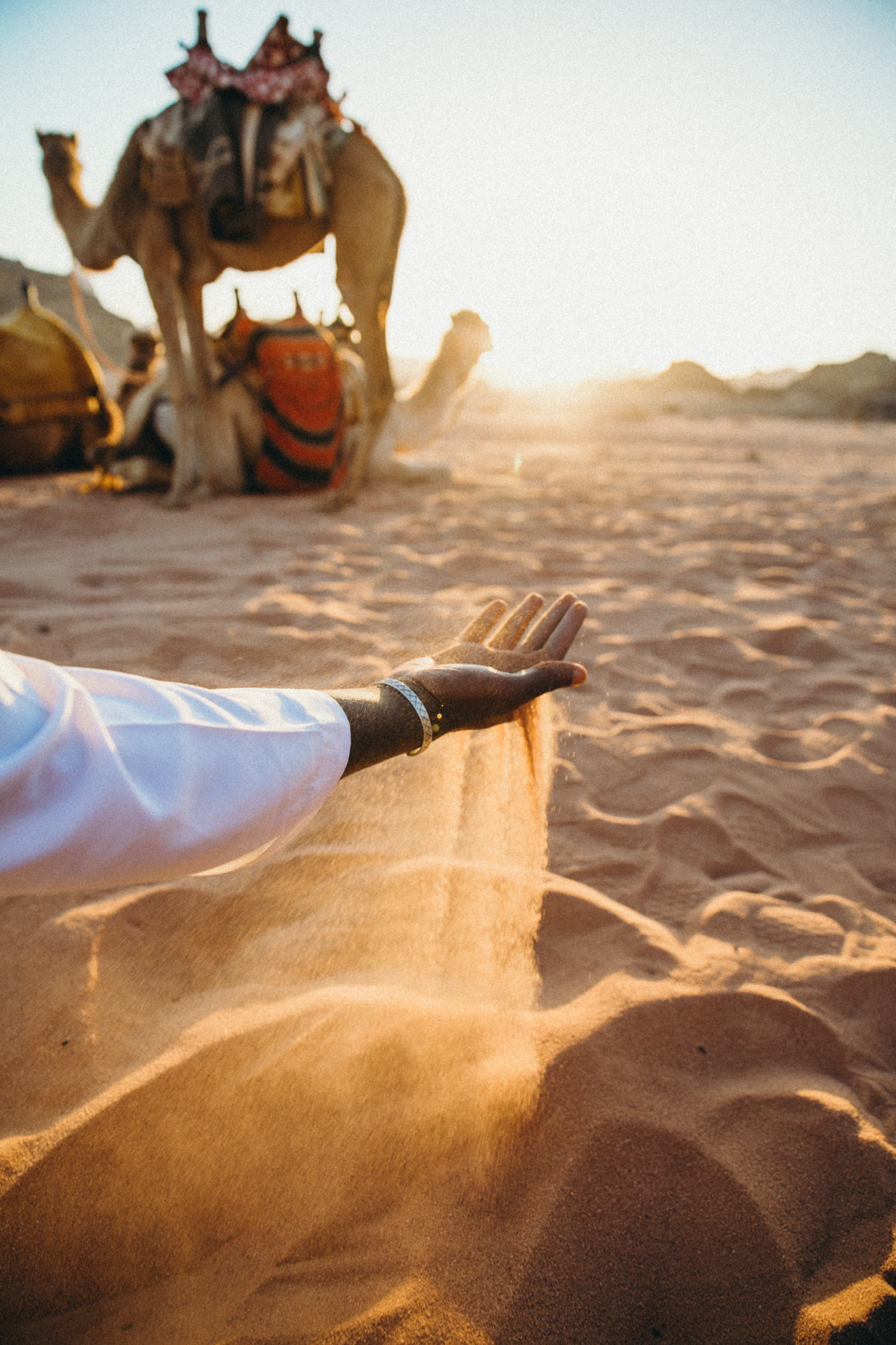 The desert is captivating.
