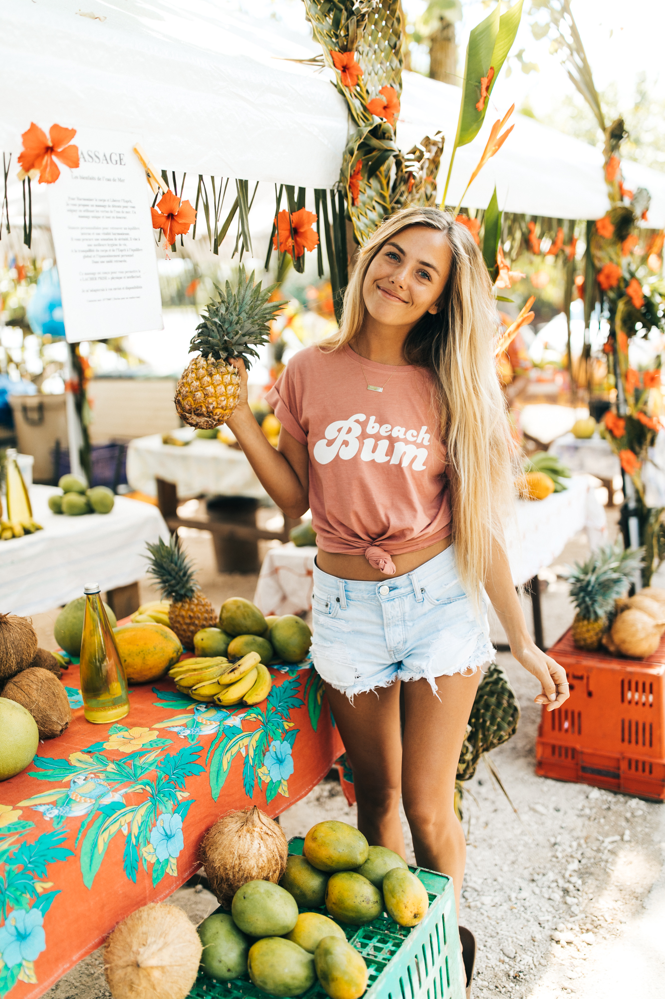 The cutest fruit stand I've ever seen!