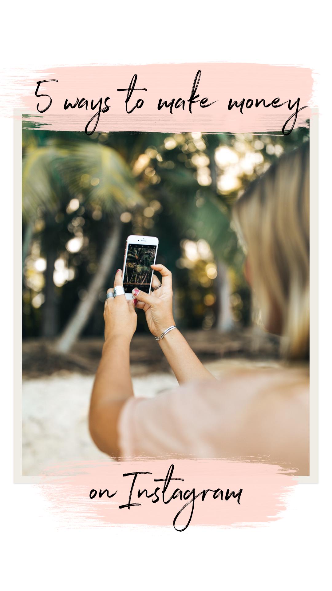 How to make money on Instagram! Social media entrepreneurship.