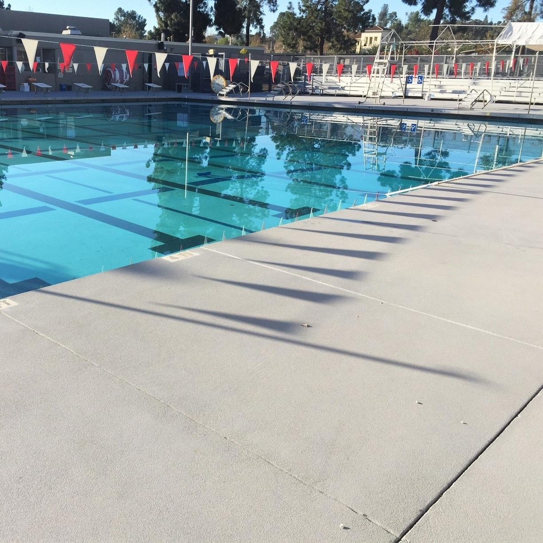 Pierce College - Exterior Pool Deck