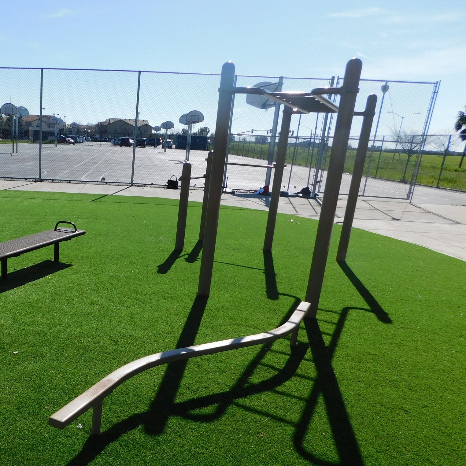 Natomas Middle School - Exterior Obstacle Course