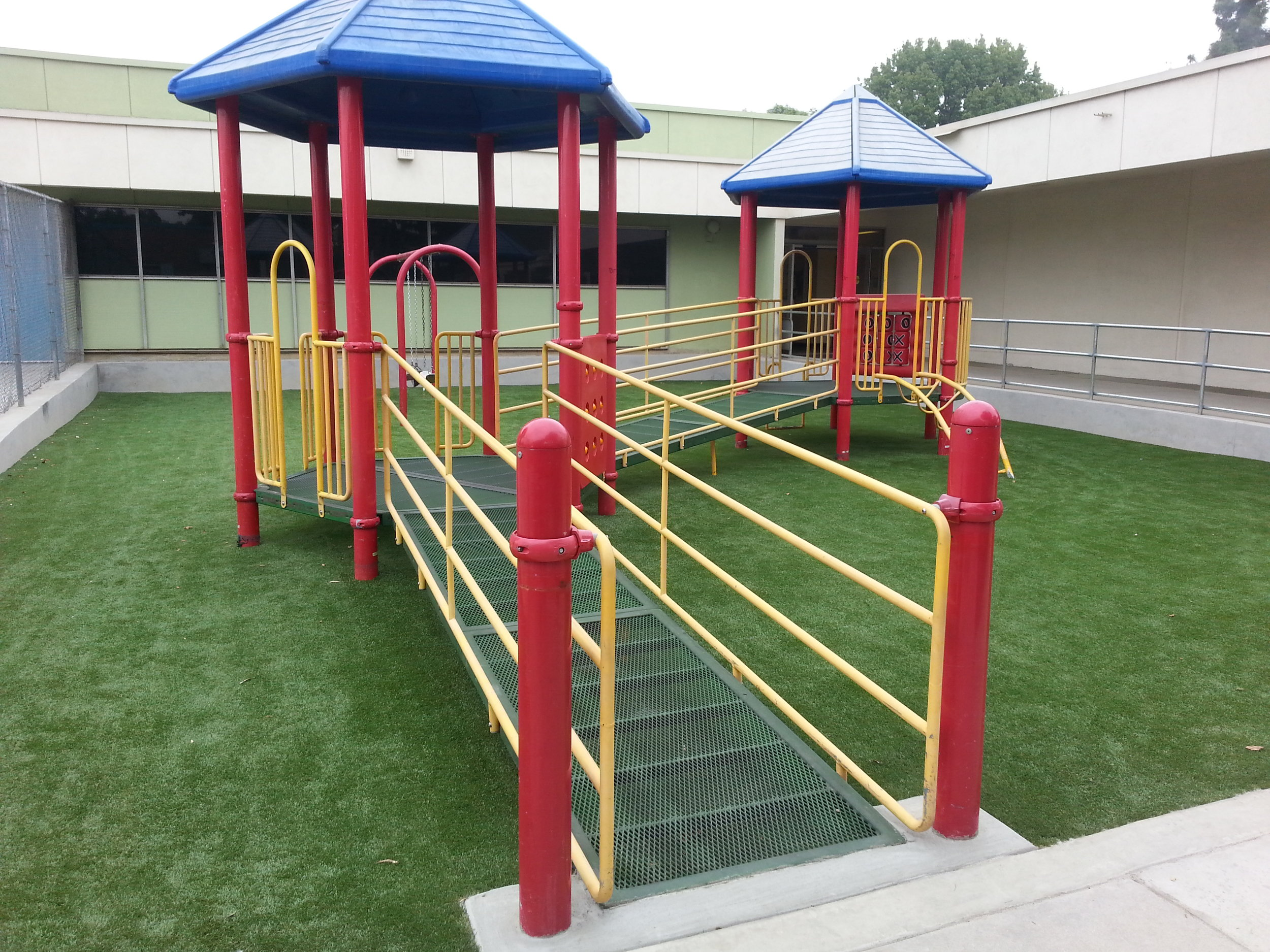 "El Monte USD - ""After completion, I was very pleased the way the installation turned out. It is currently being used and the school and the children love it."""