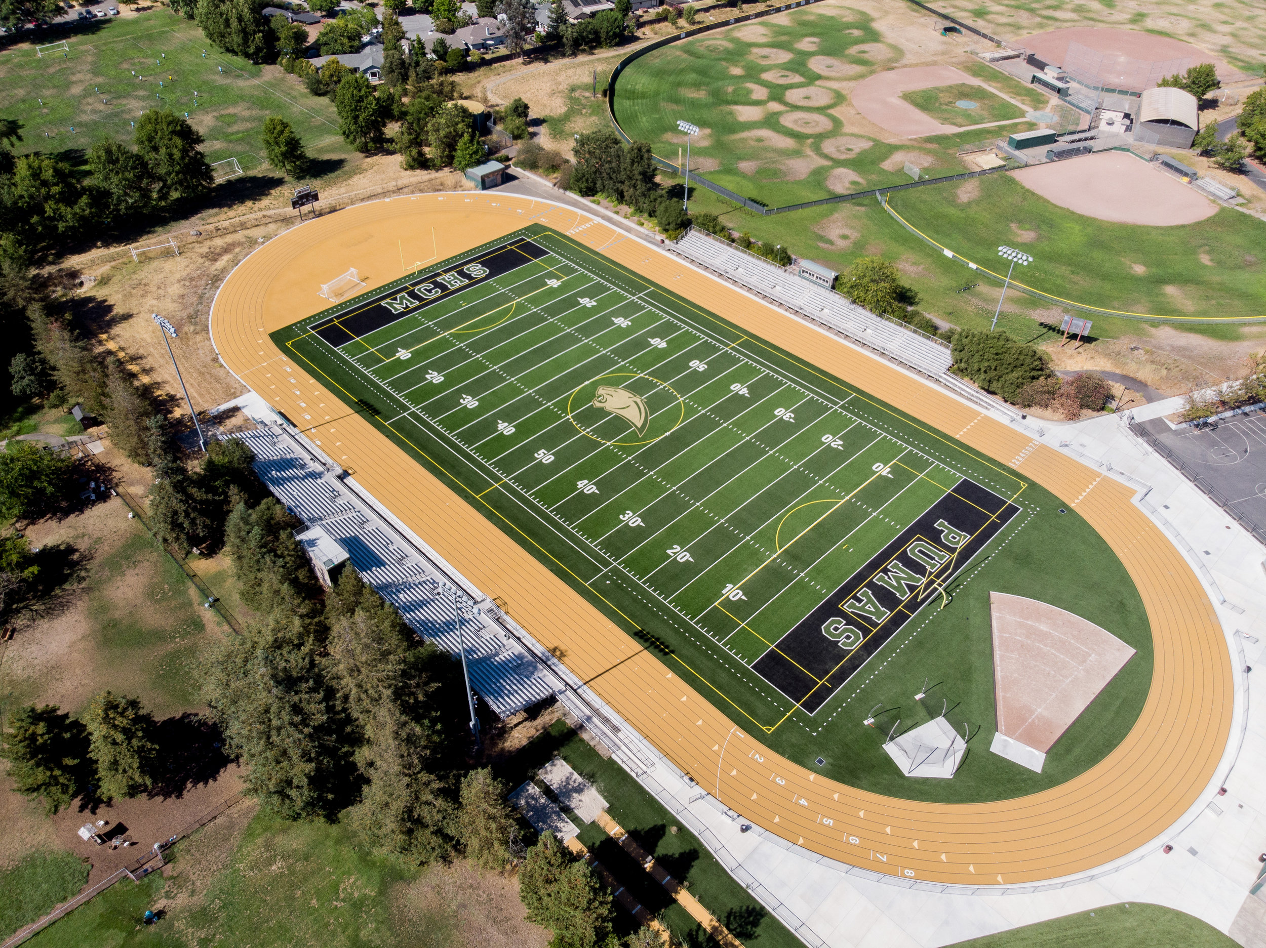 "SANTA ROSA HSD - ""KYA demonstrated the utmost care, reliability, patience, and expert guidance throughout each phase. … Maria Carillo High School has been blessed with a finished product that is certain to be the envy of all football, soccer, and track programs in the region."""