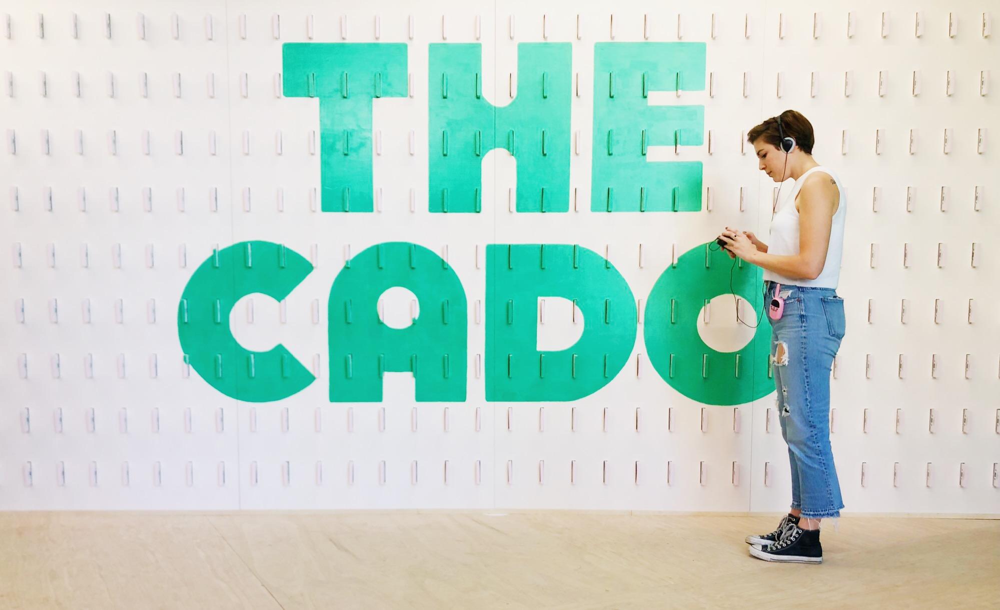 The CADO Cassette Tape Wall