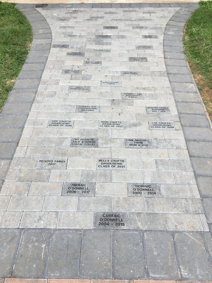 25th Anniversay Walkway, Somersfield Academy