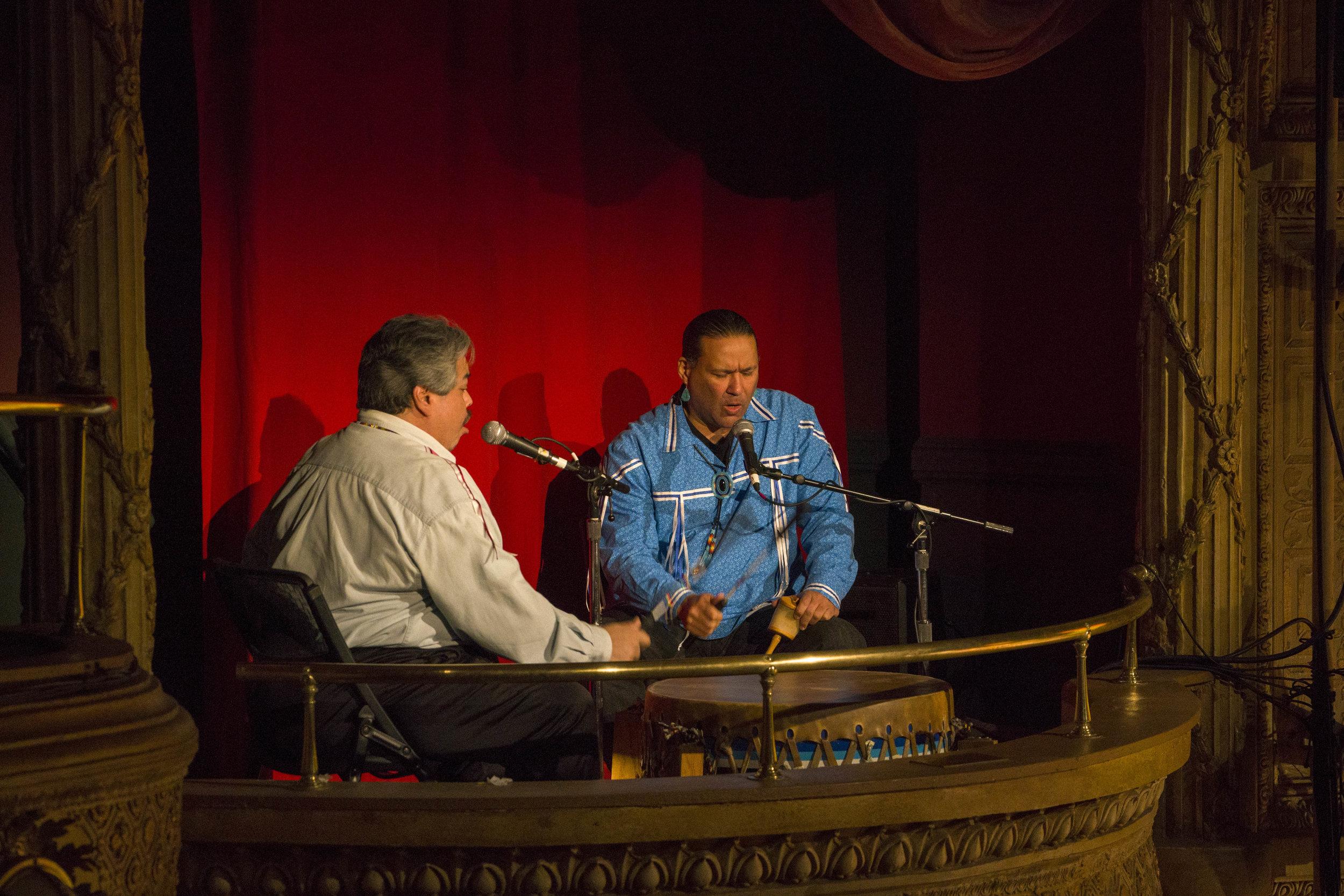 Kevin Tarrant and John Scott-Richardson