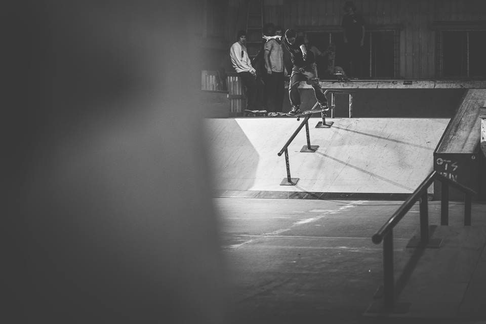 Enrick Perreault. Boardslide