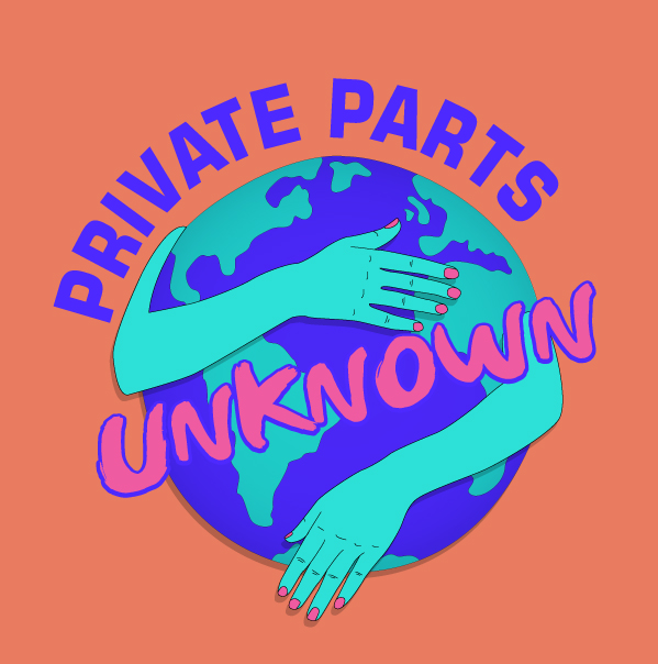 Private Parts Unknown - Private Parts Unknown (the podcast formerly known as Reality Bytes) is a comedy-travel podcast uncovering stories of love & sexuality around the world. Best friends and comedians, Courtney Kocak & Sofiya Alexandra, bring you along as they traipse from country to country exploring sex, relationships, dating & different types of food poisoning.