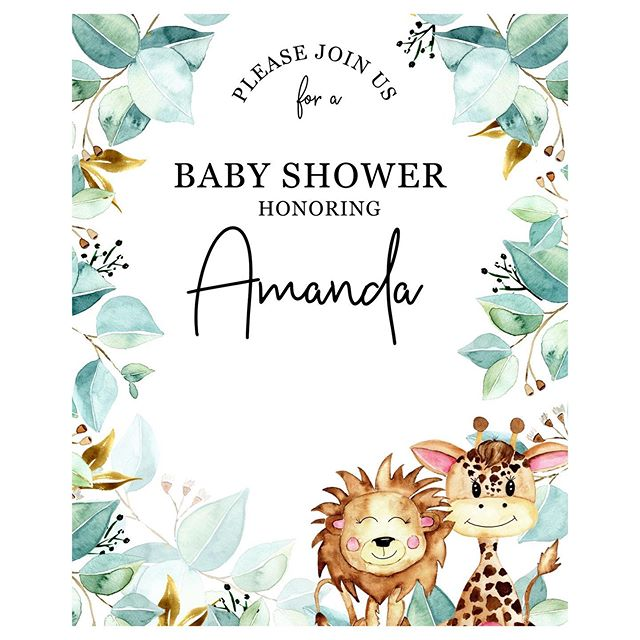 I had an absolutely blast creating and painting this custom baby shower invitation ☺️💕 . The wording has been removed for privacy but I'm so thrilled with the finished look ☺️💕 . Thanks as always @amanda_vukovic and May for supporting my services  and congratulations on the new bundle of joy that will be arriving soon! . . . . . . . #surfacepatterndesign #surfacepattern  #brisbaneartist #floralsyourway #mycreativebiz #smallbiz #watercolour #tropical #monstera #florals #create365 #watercolourflorals  #illustration_now #handpainted #eatsleepcreate #smallbusinessbrisbane #babyprint #babyprints #nursery #illustratorsoninstagram #surfacepatterndesigner #tropicalart #tropicalartist #babyshowerinvites #babyshowerideas