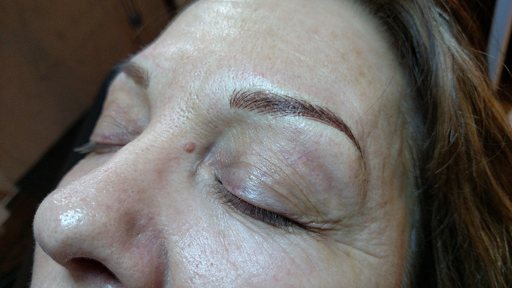 After Microblading & Microshading