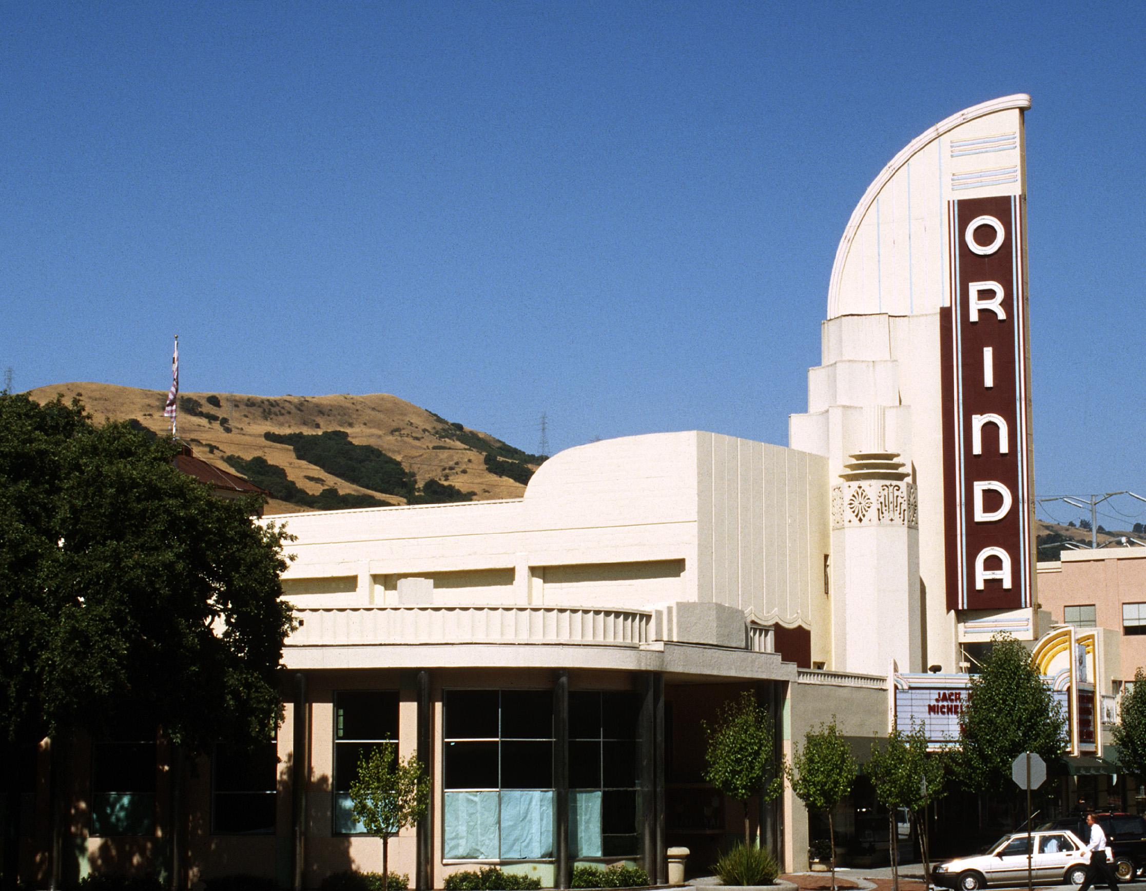 ORINDA THEATER, ORINDA CA.
