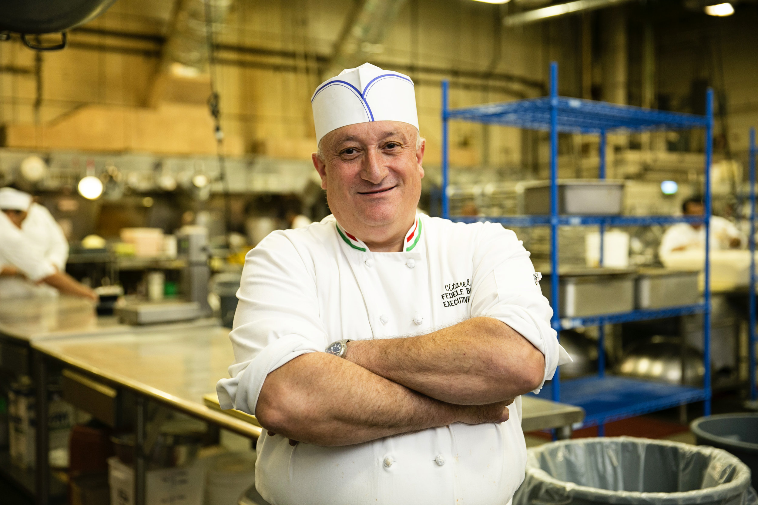 Citarella's Chef Fedele for Serendipity Magazine