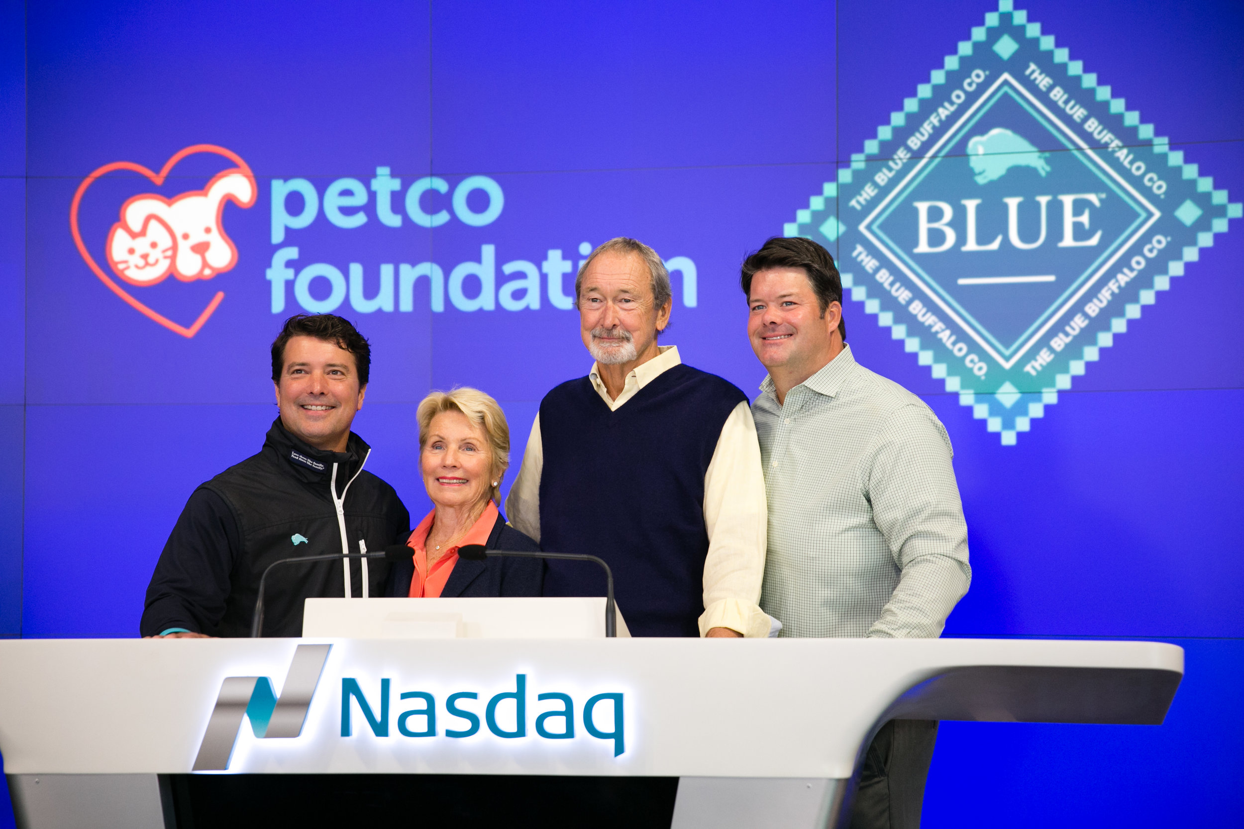Blue Buffalo Company first day listed on the Nasdaq