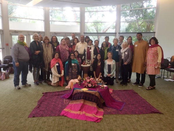 LalaRukh Kahn leads our group in A Celebration of Divine Love with Rumi at the Holy Spirit Retreat Center in Encino, California.