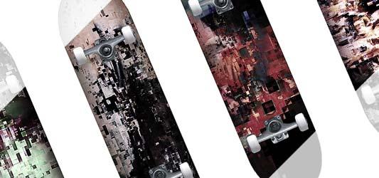 Cheetah Fight - Skateboard design