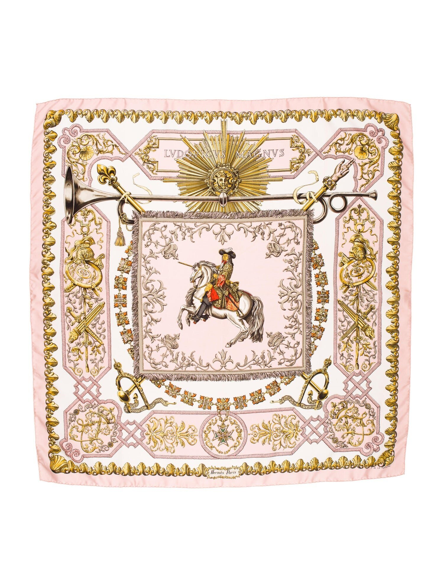 Hermes Scarf - Second Hand from The Real Real