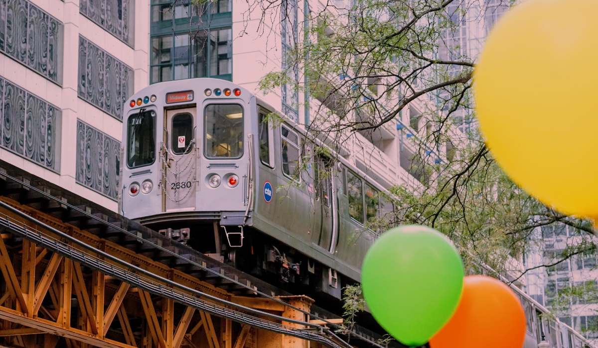 Trains | CTA - Chicago is famous for them! Easy access and great coverage, including to and from Water Tower campus. Excellent views of the city, too!