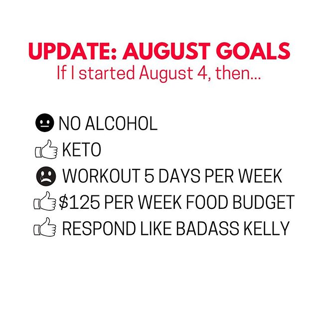 "If we started keeping track August 4, then I've had a pretty awesome goal-reaching month! . Alcohol - I had a 4 oz sample of a very delicious sour at @triptychbrewing when my hike with @kell.e.b and @runningbubba got rained out. Then I sipped on Kelle's. And, I decided to stop alcohol-free August a little early so I could enjoy, with intention, a couple beverages in @glenarbor with @itskpinky . . My exercise goals got tossed away when I spent 72 hours straight on renovations the same week I presented at 3 trainings. . Although hosting trainings is something I really enjoy, it takes up almost a full day when you factor in prep and follow-up. . This was a reminder, once again, to ""SAY NO"" so I have space for MY priorities. . All-in-all, I'm going to wrap up August with a lot of wins! And, the envelope system IS WORKING! . . . .  #debtfreecommunity #lifehacks #lifehack #debtfreejourney #debtfreegoals #financialfreedom #financialindependence #financialindependenceretireearly #firecommunity #budgetbabe #frugalliving #frugallife #minimalistmind #frugalshopper #frugalmom #frugalfashion #frugalfashionista #womenceo #frugalblogger #minimalism_life #minimalista #selfcarelove #choosefi #augustgoals #goaldigger #ketoqueen #simplelifehappylife #alcoholfree #alcoholfreezone"