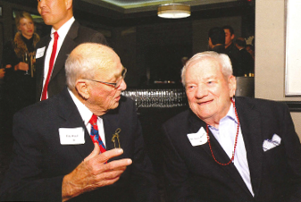 Founders Link Ward and Dr. James Bowers