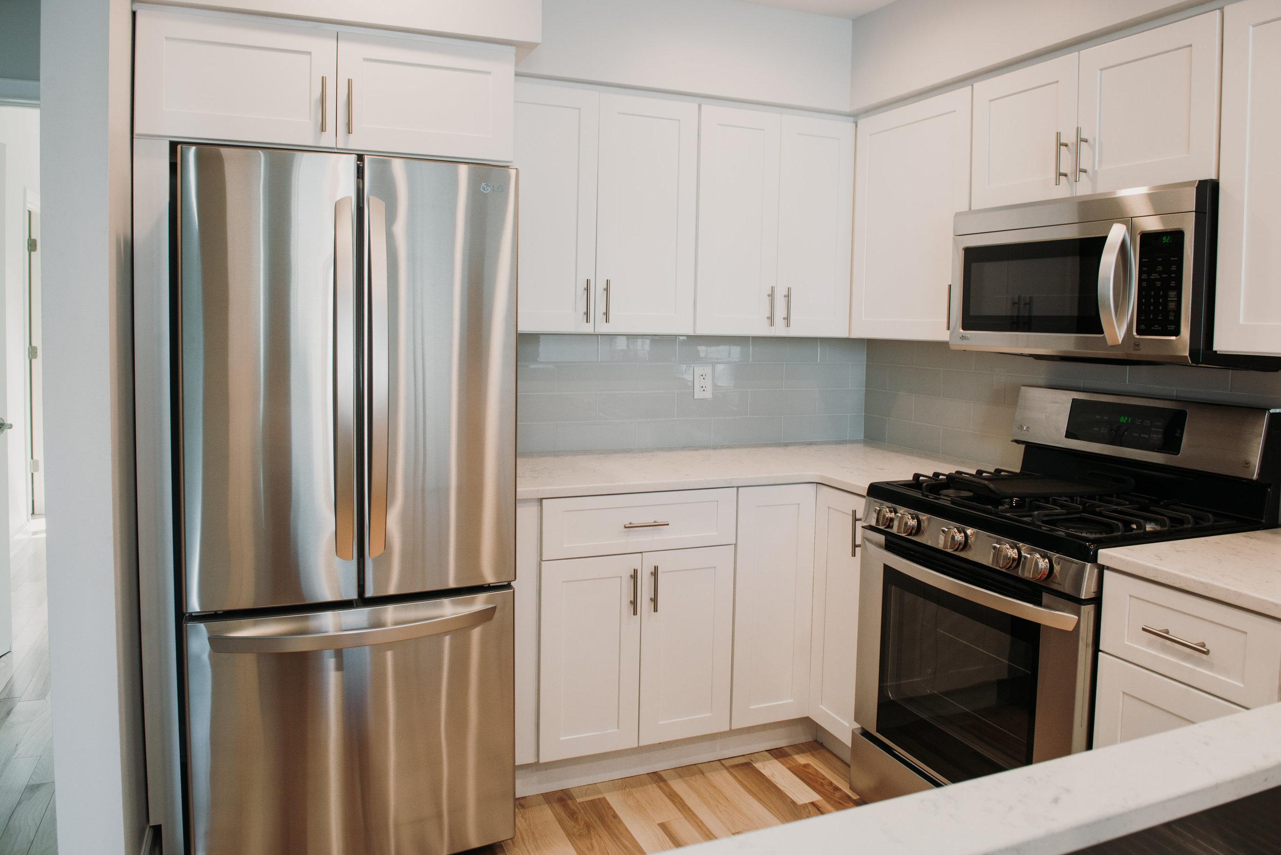 White Kitchen Cabinets in Buffalo, NY