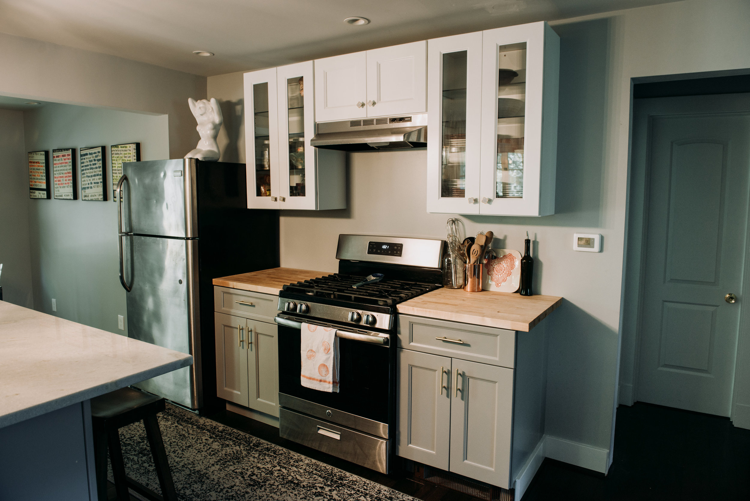 Gray Kitchen Cabinets - Professional Cabinets